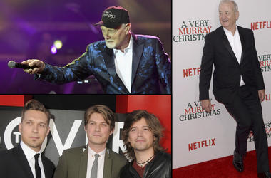 Mike Love, Bill Murray and Hanson