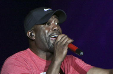 June 22, 2012 - Country star and Hootie & The Blowfish frontman Darius Rucker performed on Lady Antebellum's tour when they made a stop in Duluth, GA, at the Gwinnett Center Arena.