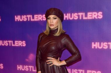 """Jennifer Lopez attends STX Entertainment's """"Hustlers"""" Photo Call at Four Seasons Los Angeles at Beverly Hills on August 25, 2019 in Los Angeles, California."""