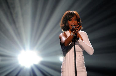 Singer Whitney Houston accepts the Winner of International - Favorite Artist Award onstage at the 2009 American Music Awards at Nokia Theatre L.A. Live on November 22, 2009 in Los Angeles, California.