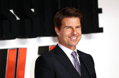 Tom Cruise attends the UK Premiere of 'Mission: Impossible - Fallout' at the BFI IMAX on July 13, 2018 in London, England.