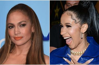Jennifer Lopez and Cardi B