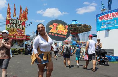 Sandee Bonita en el Montgomery County Fair