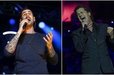 Melendi and Carlos Vives