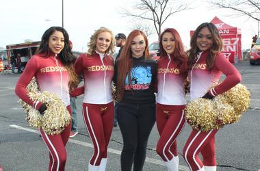 El Zol Deportes en el Tailgate de Los Washington Redskins vs. Philadelphia