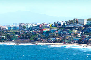 Puerto Rico coastline