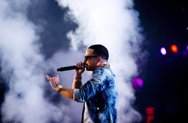 uerto Rican Regaetton singer Daddy Yankee performs in his solo concert in Amsterdam, the Netherlands