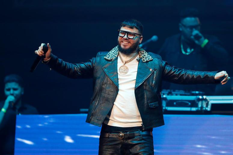 Farruko performs during Calibash Las Vegas at T-Mobile Arena on January 26, 2019 in Las Vegas, Nevada.