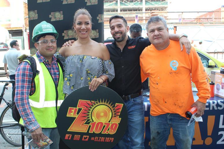 Patricia De Lima Junto a LiUNA