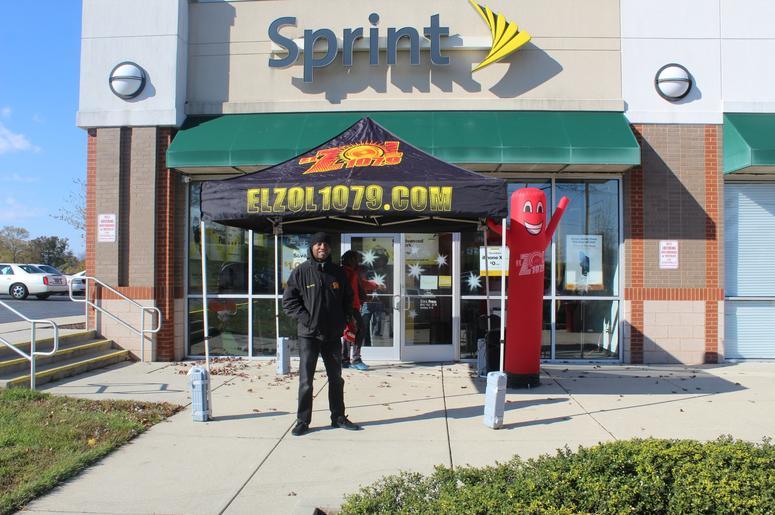 Rey Parker en Sprint