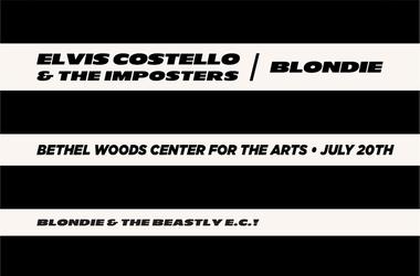 Elvis Costello and Blondie