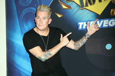 Mark McGrath attending the 'I Love The 90s' Grand Opening
