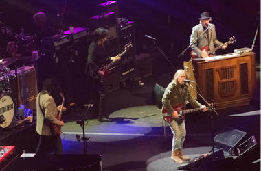 Tom Petty and the heartbreakers concert at Madison Square Garden