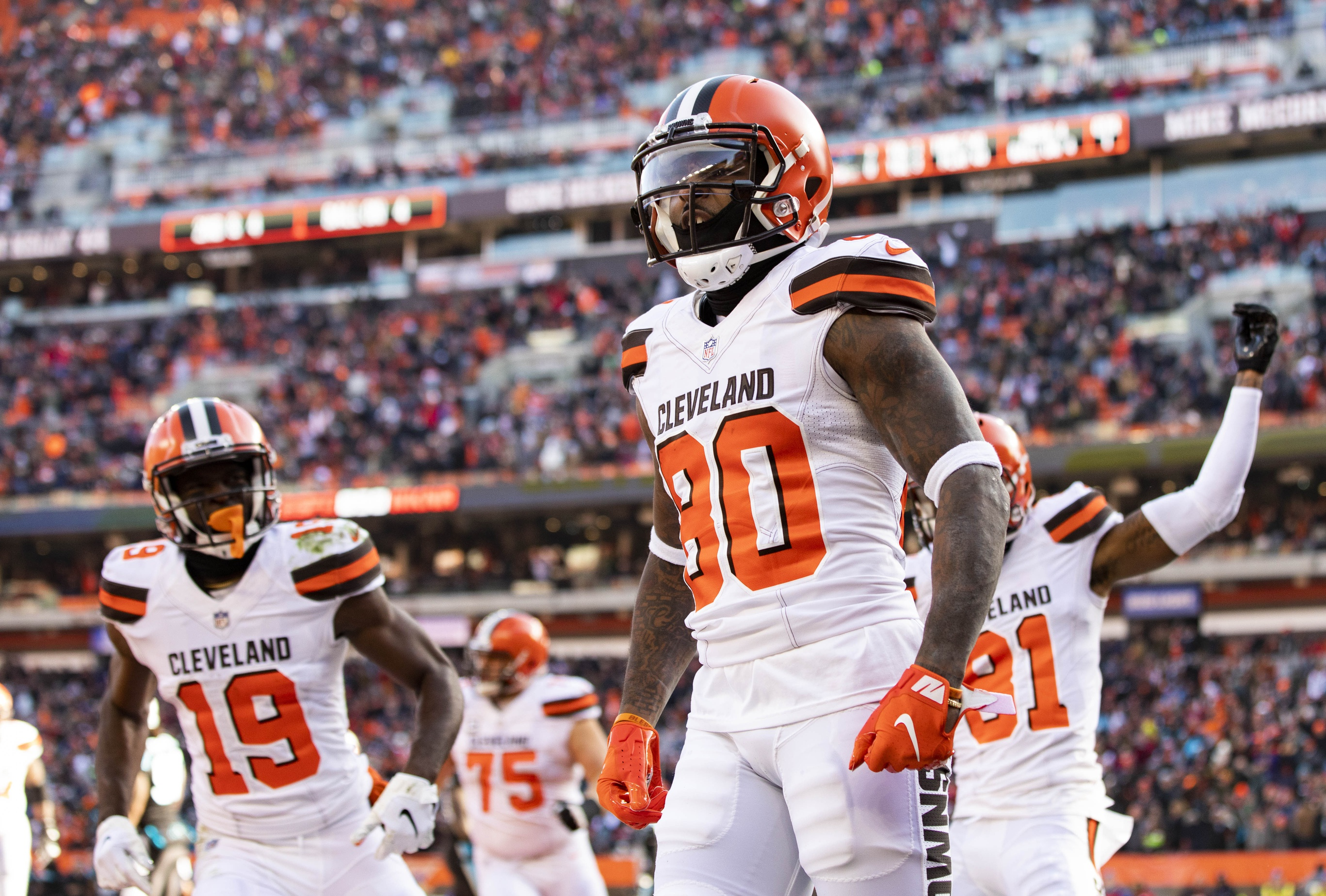 detailed look c97d6 26f64 Cleveland Browns Jarvis Landry named to Pro Bowl | 98.5 WNCX