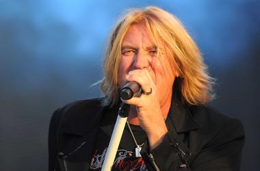 Joe Elliott of Def Leppard.