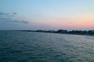 View from the Surf City Pier