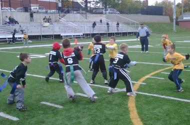 Holykos Kids Playing QB and RB
