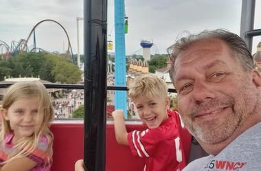 Enjoying Cedar Point During September