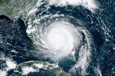 NOAA satellite handout image