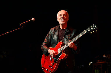 Peter Frampton performs onstage at One More For The Fans! - Celebrating the Songs & Music of Lynyrd Skynyrd at The Fox Theatre on November 12, 2014 in Atlanta, Georgia.