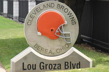 Cleveland Browns facility Lou Groza Blvd.