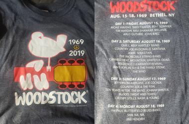 Woodstock Anniversary Shirt