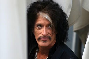Joe Perry of Aerosmith performs on the NBC Today Show concert series in New York