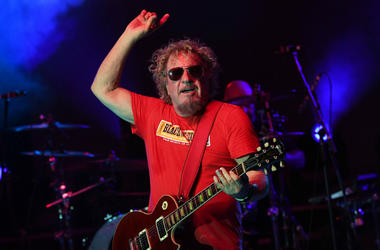 Sammy Hagar performs at Pompano Beach Amphitheater