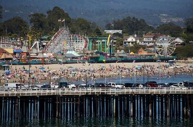 Santa Cruz, CA - The real-life setting for 'The Lost Boys'