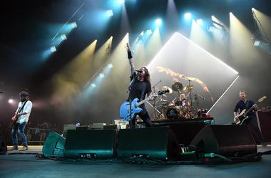 Foo Fighters perform