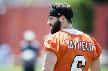 Cleveland Browns quarterback Baker Mayfield