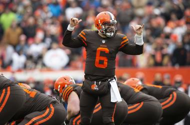 Baker Mayfield, kevin hart, Cleveland Browns