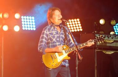 John Fogerty performs