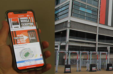 Browns mobile ticket