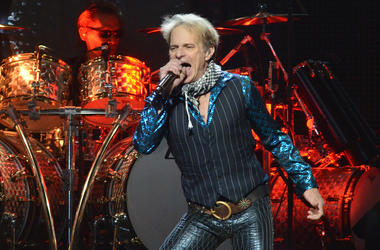 Singer DAVID LEE ROTH