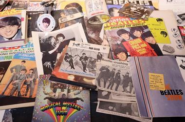 Beatles paraphernalia