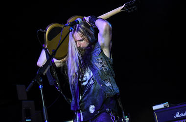 Zakk Wylde with Experience Hendrix Tour at Pompano Beach Amphitheater, Pompano Beach, Florida, March 3, 2019.