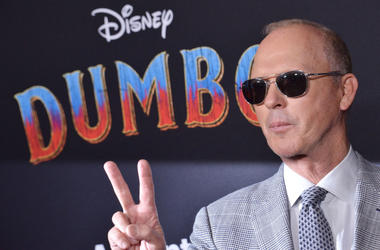 "Michael Keaton arrives at Disney's ""Dumbo"" Los Angeles Premiere held at the El Capitan Theatre in Hollywood, CA on Monday, March 11, 2019."