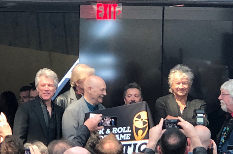 Bon Jovi at Rock Hall