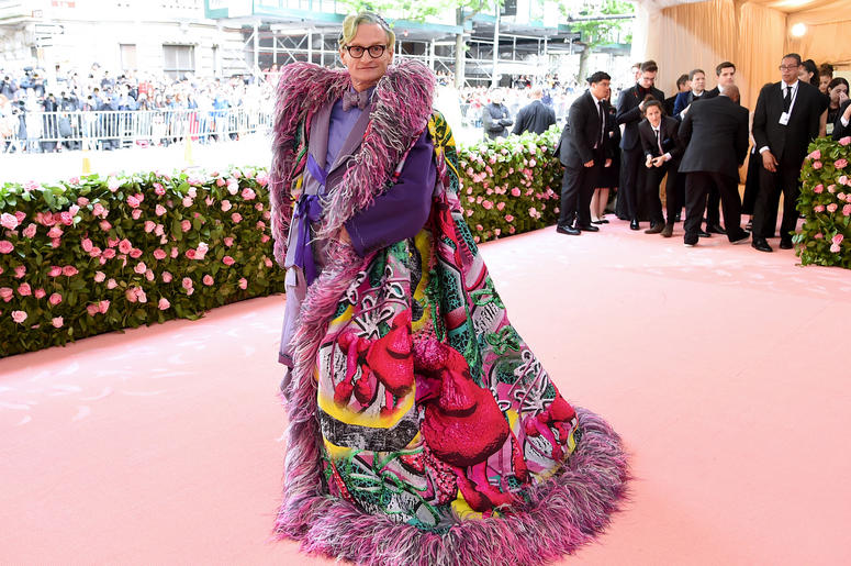 Hamish Bowles attends The 2019 Met Gala