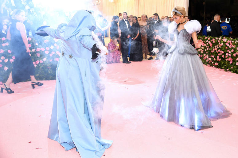 Law Roach (L) and Zendaya attend The 2019 Met Gala