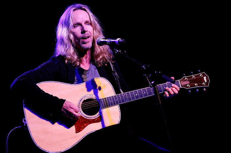 Tommy Shaw of Styx performs at Inspire Nashville 2: A Celebration for Possibilities, Inc. at Marathon Music Works on October 14, 2014 in Nashville, Tennessee.
