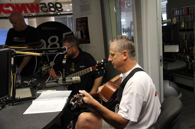 PHOTOS: Wish You Were Here Perform Live At WNCX - August 9