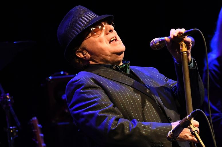 Van Morrison performs