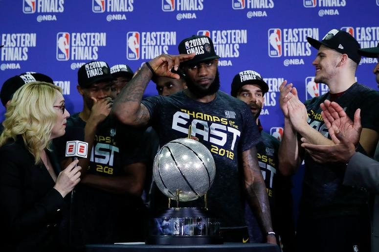 Cavs headed to 2018 NBA Finals