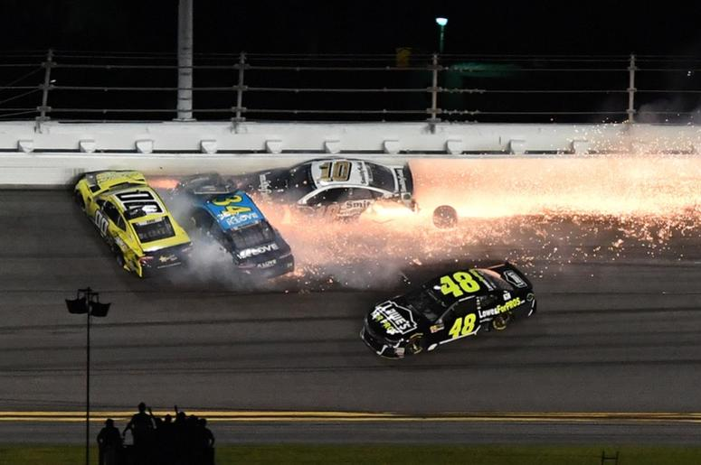 NASCAR Wrecks of 2018 Photos | 98 5 WNCX
