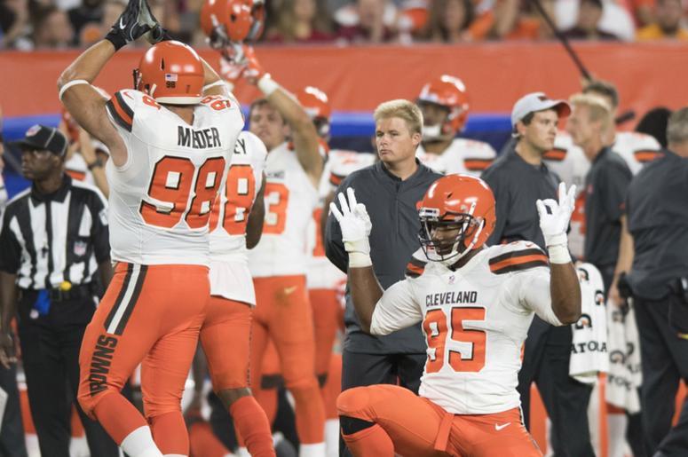Browns safety - Garrett and Meder