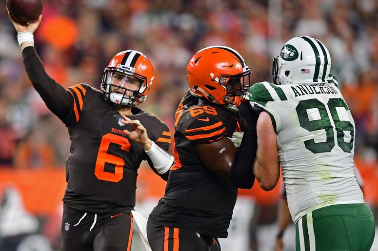7bcdbb11330 Baker Mayfield, Carlos Hyde rally Cleveland Browns to win over New ...