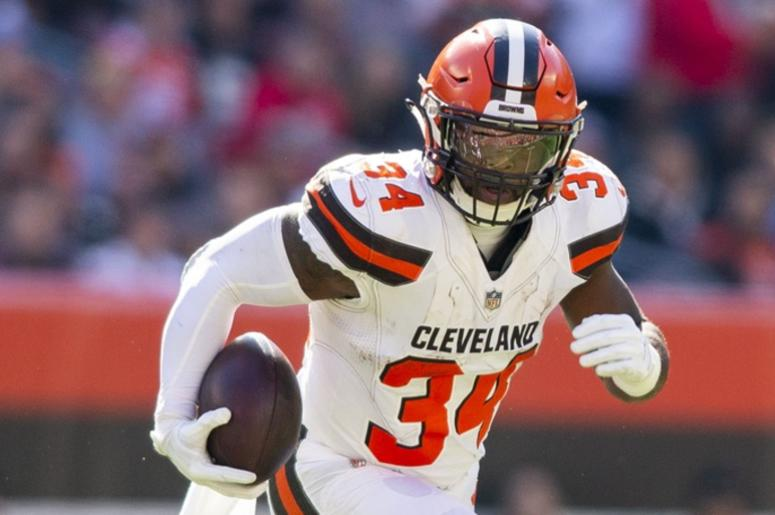 pretty nice de88d 5b688 Carlos Hyde traded by Cleveland Browns to Jacksonville ...