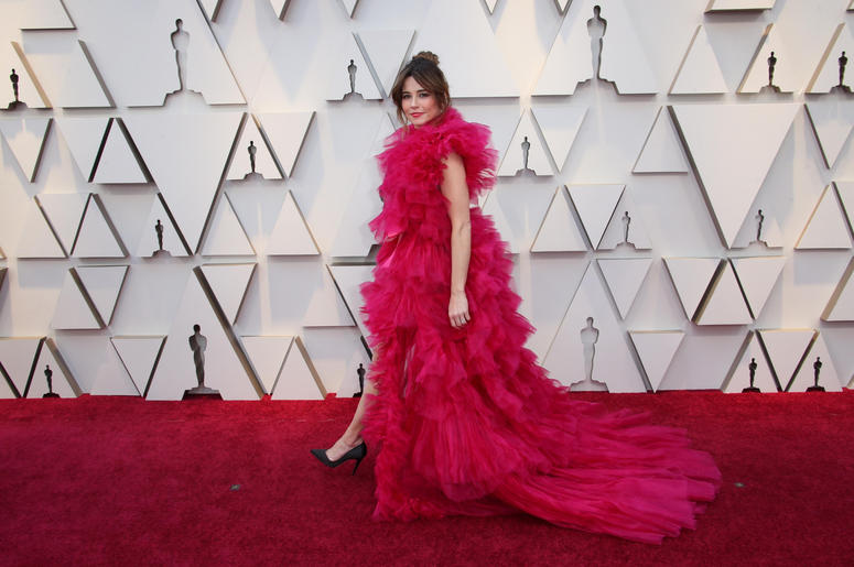 Linda Cardellini arrives at the 91st Academy Awards at the Dolby Theatre.
